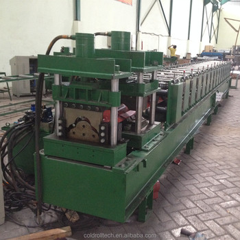Metal Roof Ridge Cap Roll Forming Machine Made in Wuxi