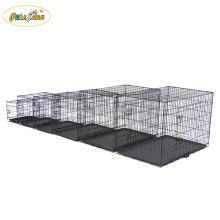 Dog Kennels Cozy Pet Dog Crate Puppy Crate Black Travel Folding Cat Crate