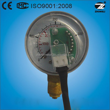 50mm CNG pressure gauge of outer mount and half ss type / bottom connection/ CE certificate & ISO 9001