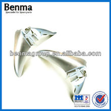 C100 custom motorcycle fender factory in China,alloy aluminum motor parts front fender manufacturer, with top quality