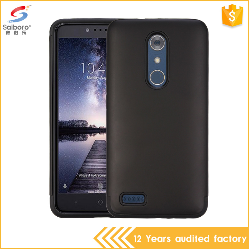 2017 new arrivals Phone Accessories PC TPU Hybrid slim armor Case For zte max pro z981