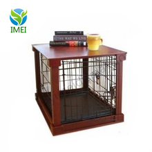 YM6-055 Kennel Furniture Cage Bed House Wooden