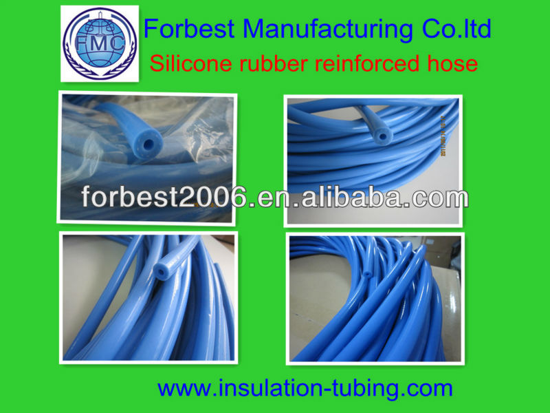 silicon rubber reforced tubing for korea market