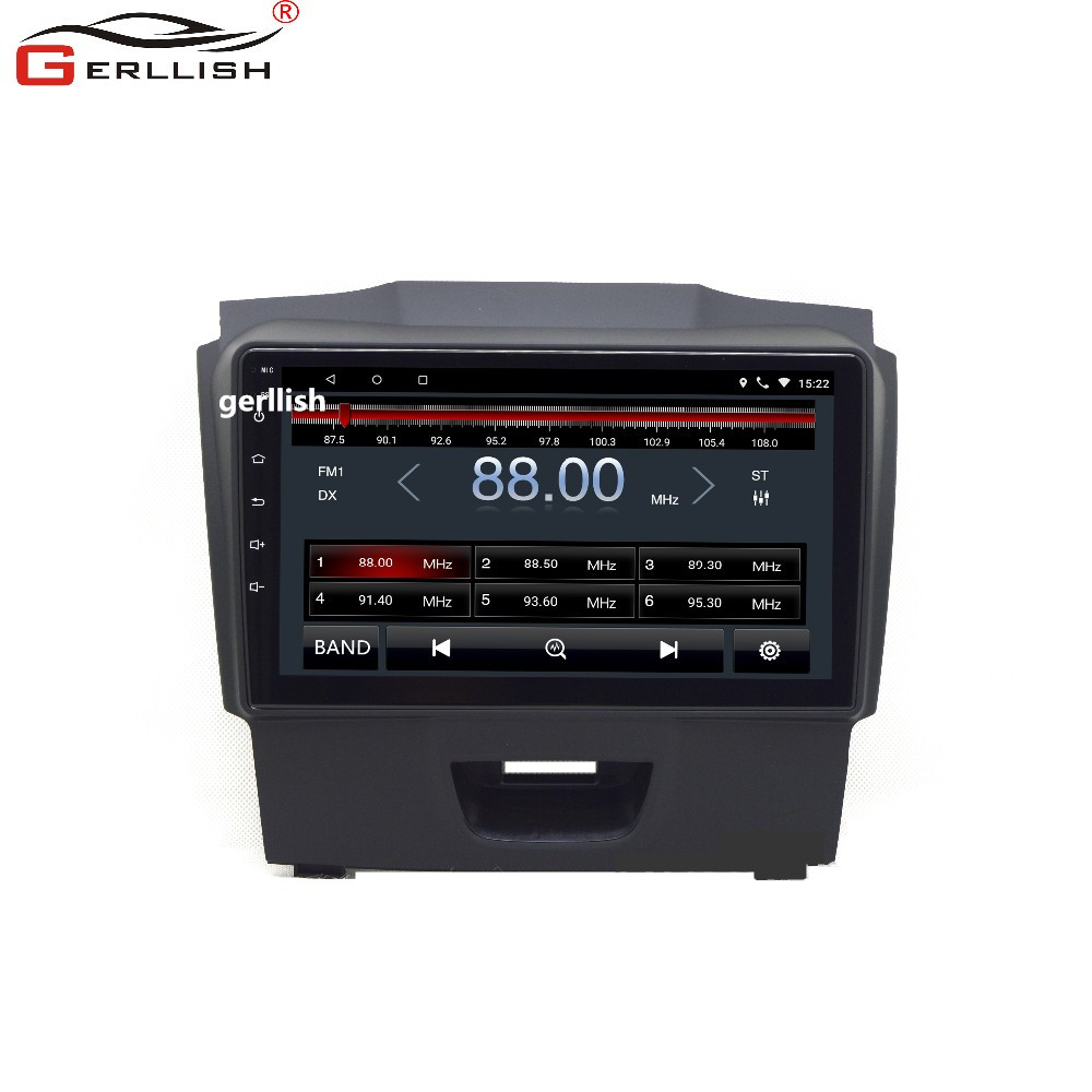 Android 9inch car dvd gps multimedia player for chevrolet S10 for <strong>D</strong>-MAX navigation