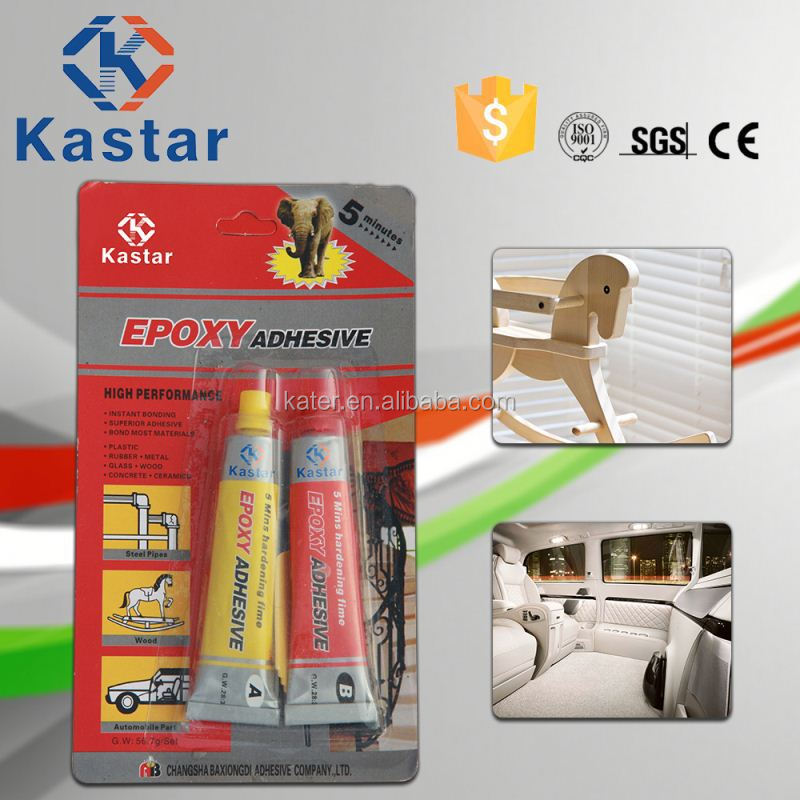 Household ISO9001 approved two components stone glue epoxy adhesive for glass