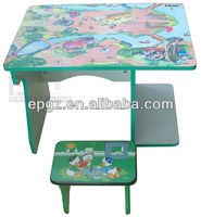 Play school furniture,Baby kid desk and chair set