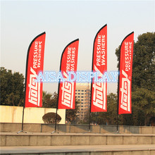 custom beach flag high quality cheap advertising custom feather flag free shipping 10pcs