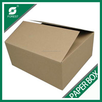eco-friendly 5 layer brown craft corrugated carton box for shipping and packaging wholesale