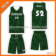 100% polyester cheap tight fit basketball shirt