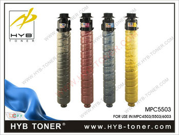 New! MPC4503, MPC5503, MPC6003 color toner