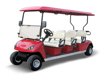 environmental fashion 4 seats electric golf cart