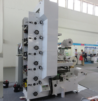 Flexo Graphic Printing Machine Flexible packaging material printing machine