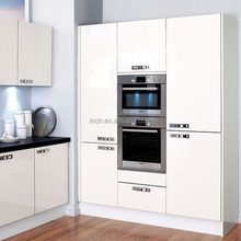 Top quality high gloss kitchen cabinet pantry unit