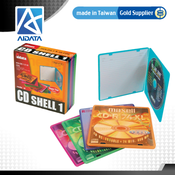 Durable Assorted Color CD DVD Case
