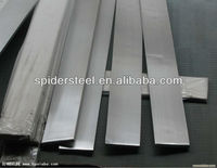 sus 304/430/316/321 Polished/Hairline stainless steel flat bar