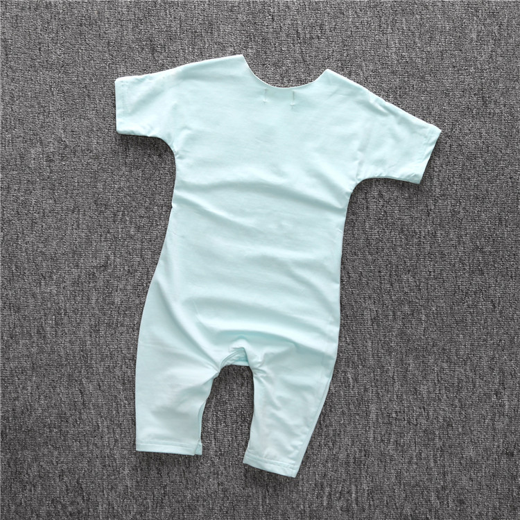 S13797A Infants & Toddlers clothing natural fiber Baby Clothes/ Baby rompers