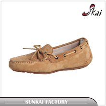 cheap price new 2017 Suede genuine leather Shoes women's oxfords pig skin casual Loafers, sneakers for Men Flats shoes