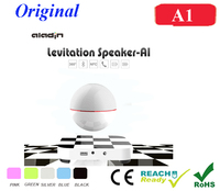 Portable Wireless Bluetooth 4.0 Magnetic Levitation Speaker Floating Rotating Speaker Enhanced Bass Resonator Powerful Sound