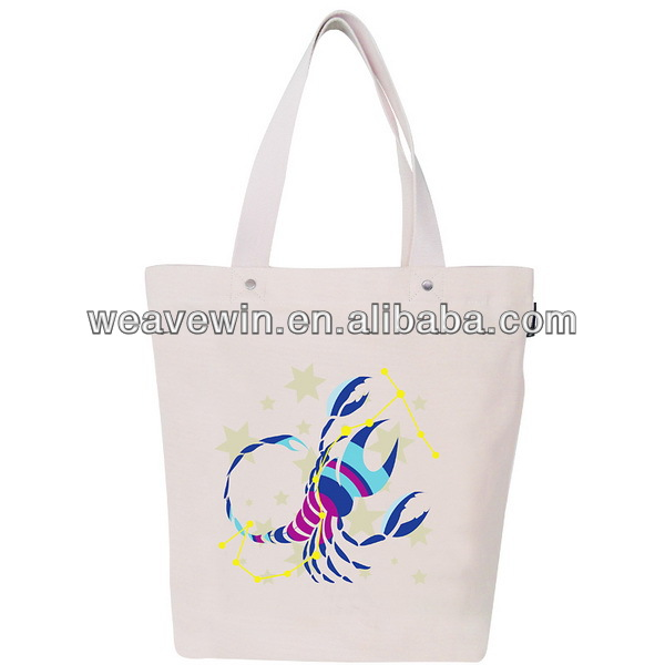 Fashion shopping bag/ bucket bag with a big shrimp