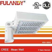 Led Street Light led parking lot lighting display lighting waterproof meanwell driver 5 years warranty UL E472881