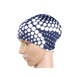 nylon facekini,waterproof swimming hats,beautiful multi colour lycra swim cap