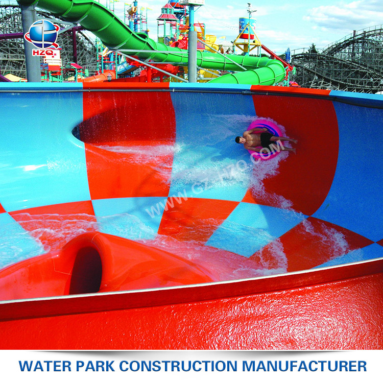 Quickly assemble 57m Occupied Area tube slide for water park