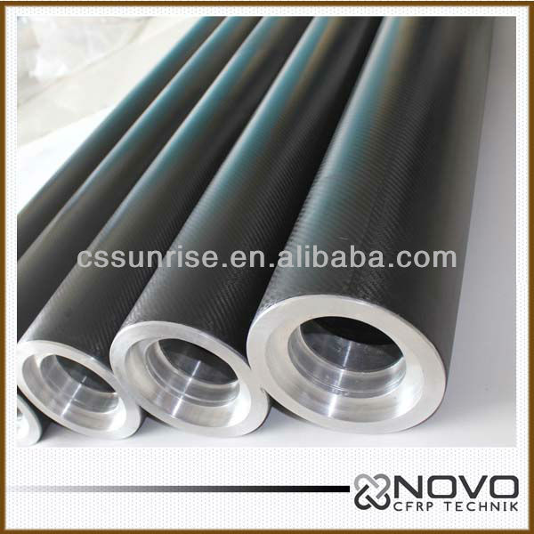 Excellent And High Strength Custom-made Carbon Fiber Roller Used In Telescopic Pole Parts