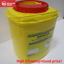 5L plastic sharp container