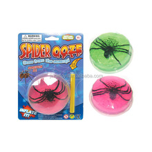 Diamond Ooze Slime Spider Toys for Halloween Promotion