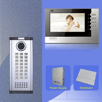 video door phones system with new model of video indoor monitor