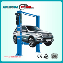 4 Ton 2 Post Clear Floor Car Lift/Electric Release 2 Post Car Hoist with CE