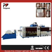 High efficiency disposable plastic cup making machine