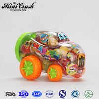 Puding & Jelly assorted fruit jelly in racing car
