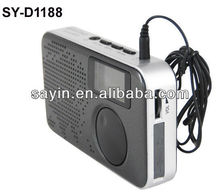 SY-1188 Digital radio & PLL Multi-band Radio with mp3 input &Alarm Clock Radio with Mp3
