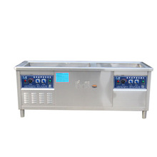 High Capacity Integrated Automatic Stainless Steel Dishwasher Machine Commercial