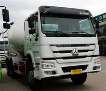 SINOTRUCK used 8 m3 concrete pump mixer truck / concrete mixer truck water pump