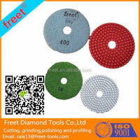 2mm Thickness Wet Flexible Resin Pads with Grit 50 to 3000
