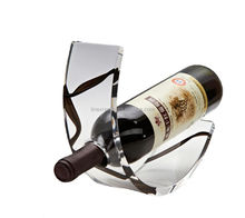 LINEX wholesale acylic fashion display wine rack pretty wine rack single bottle red wine holder