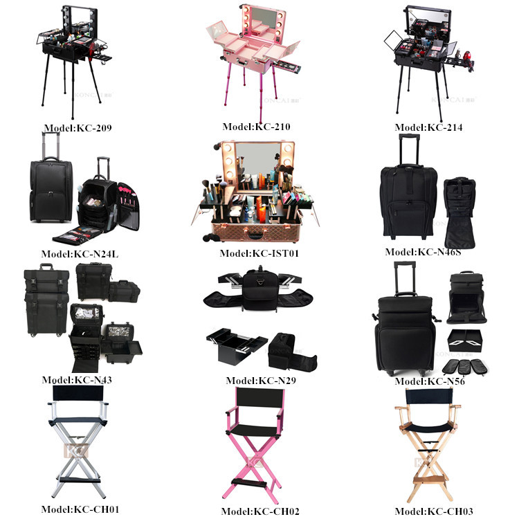 KONCAI Best Selling Beauty Case  professional Hair dressing trolley