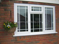 European Style UPVC Windows and Doors With Frame Design