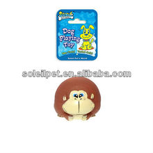 PVC DOG TOY,PET TOYS MR MONKEY