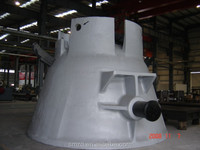 Foundry Pouring Steel Ladle Furnace Casting Ladle