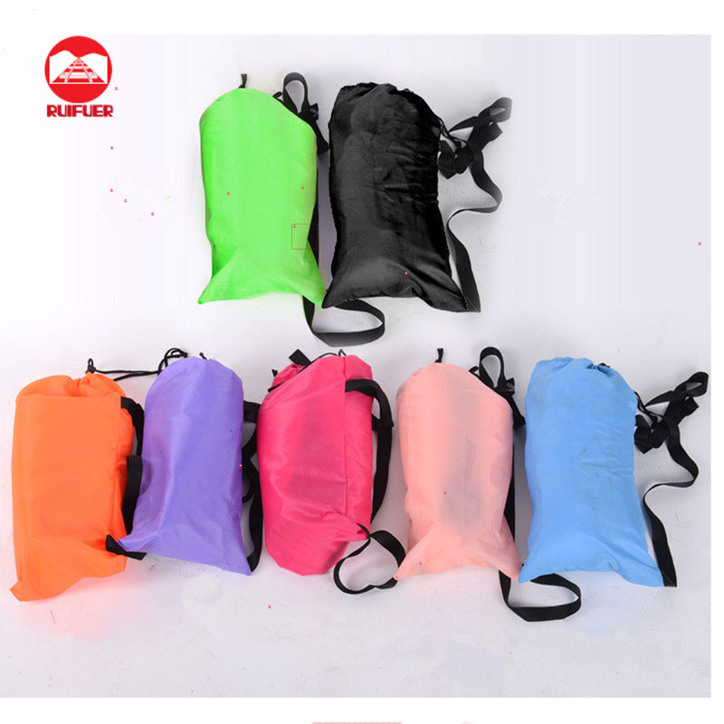 Original Factory Wholesale Outdoor Lamzac Hangout Air Filling Inflatable Sleeping Lazybag Sofa