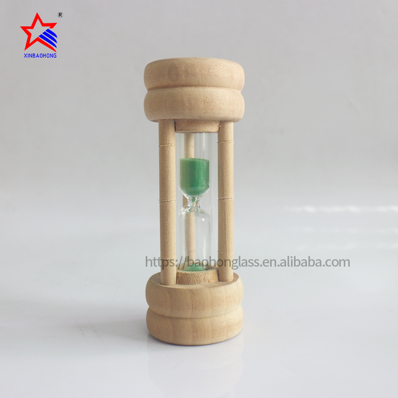 Promotion <strong>wood</strong> 1 minute mini hourglass wholesale gifts & crafts