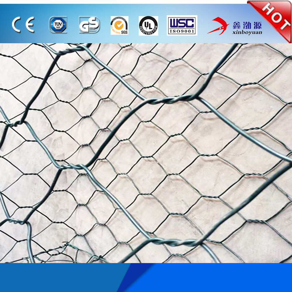 good quality low carbon PVC coated galvanized China erosion control gabion baskets/gabion ring plier for hot sale (factory)