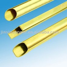 decorative brass tube
