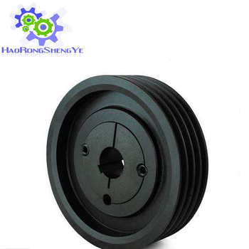 New produce V-belt pulley black oxide