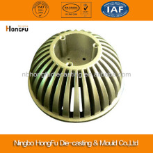 Customed aluminium lamp shade round