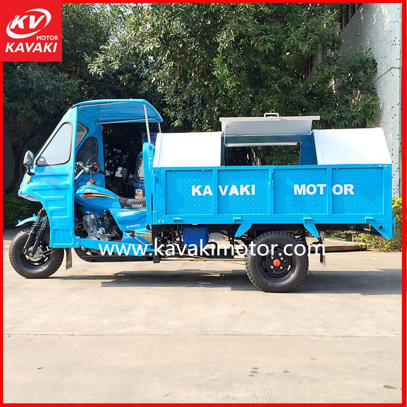 Tipper Truck Capacity Garbage Tricycle/Heavy Duty Truck/Trike Chopper Three Wheel Motorcycle
