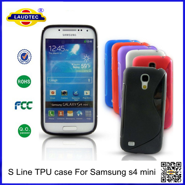 S-Line TPU Case For Samsung Galaxy S4 Mini I9190 Case Made in China Laudtec